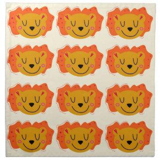 LIONS GOLD LITTLE KIDS LIONS NAPKIN