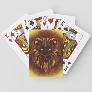 Lion's Head Playing Cards, Standard Index faces Playing Cards