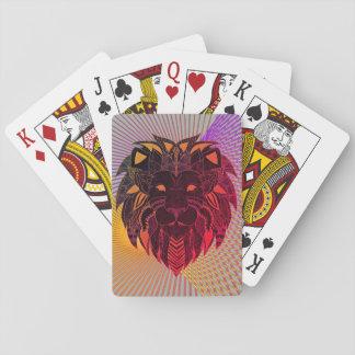 Lion's Head Poker Deck