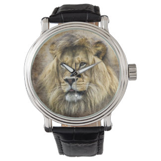 Lions Head Watch