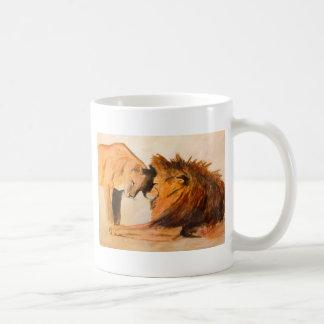 Lions in Love #2 Coffee Mug