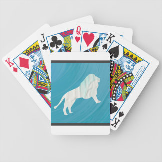 Lion's Majesty 1 [Framed] Bicycle Playing Cards
