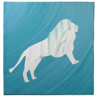 Lion's Majesty 1 [Framed] Napkin