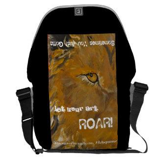 Lion's Messenger Bag