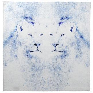 lions napkin