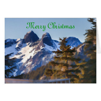 Lions Peak Greeting Card
