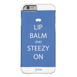 Lip Balm and Steezy On Phone Case