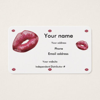 Lip Boss Business Card