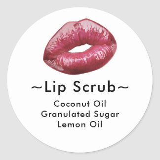 Lip Scrub Sticker