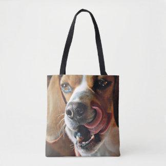Lip Smacking Good Beagle Tote Bag