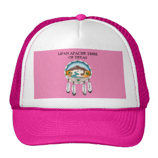 Lipan Apache Tribe of TX CUSTOM Nylon Mesh Hat