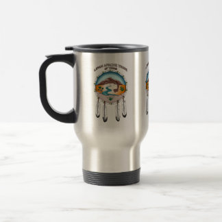 Lipan Apache Tribe Stainless Steel 15oz Travel Mug