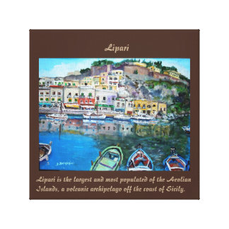 "Lipari - 12"" x 12"", 1.5"", Single Canvas Print"