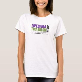 Lipedema Triathlon Finisher 2016 T-Shirt
