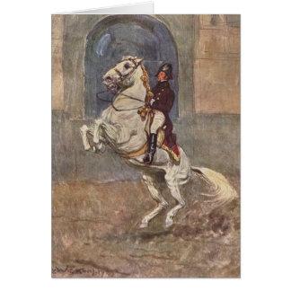 Lipizzaner Dressage: Courbette Card