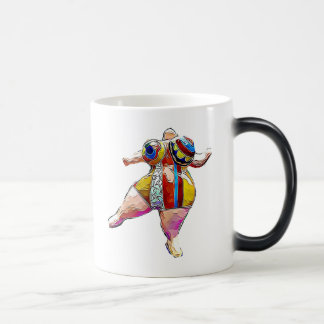 Lipoedema strong Lady Dancing Coffee Mug