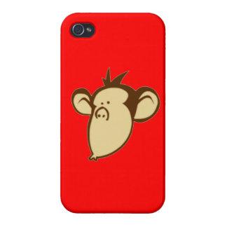 Lippy Monkey Case For iPhone 4
