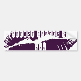 Lips Bumper Sticker