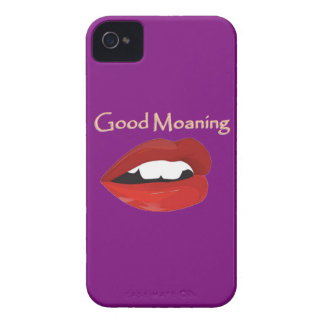 Lips Good Moaning To You Case-Mate iPhone 4 Cases