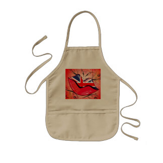 Lips United Kingdom Apron