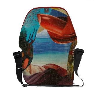 Lipstick and Beaches Commuter Bag