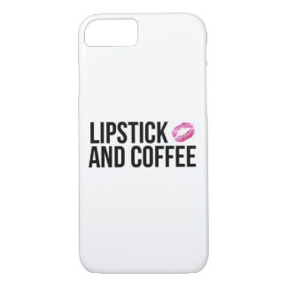Lipstick and Coffee Phone Case