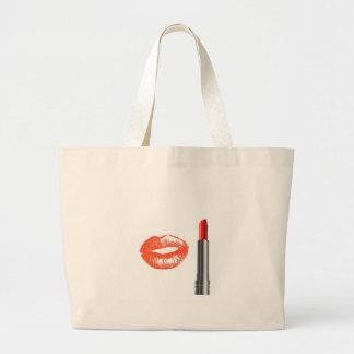 lipstick and lips bag
