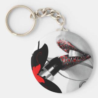 Lipstick Diva Keychain