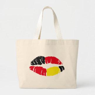 lipstick flag germany bags