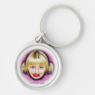 LIPSTICK GIRL Keychain