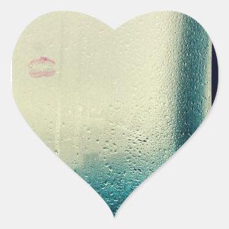 Lipstick Heart Sticker