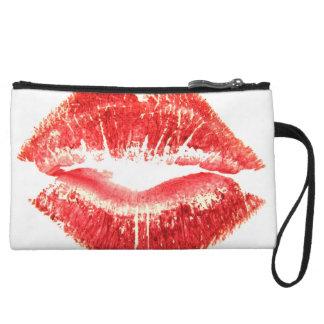 Lipstick Kiss Wristlets