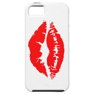 Lipstick Kiss Tough iPhone 5 Case
