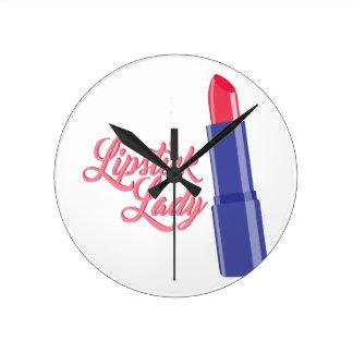 Lipstick Lady Clocks