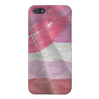 LIPSTICK LESBIAN PRIDE iPhone 5/5S CASE