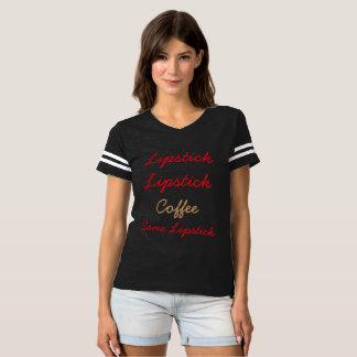 Lipstick Lipstick Coffee Same Lipstick Clothing T-Shirt