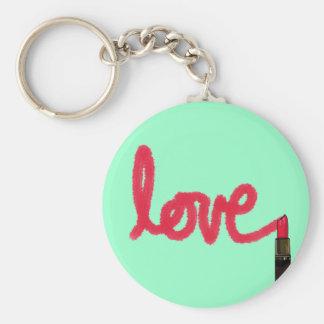 Lipstick Love Keychain