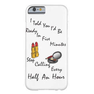 Lipstick Make-up Themed Phone Case Barely There iPhone 6 Case
