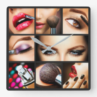 Lipstick Makeup Fashion Design Wallclocks