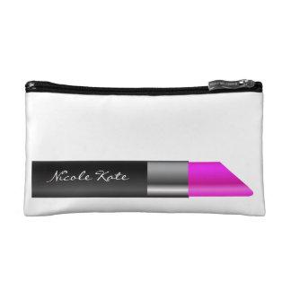 Lipstick Monogram Cosmetics Bags