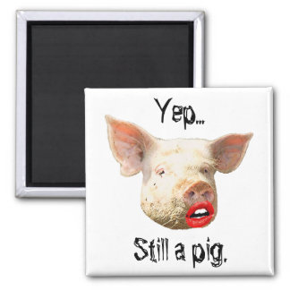 Lipstick on a Pig Magnet