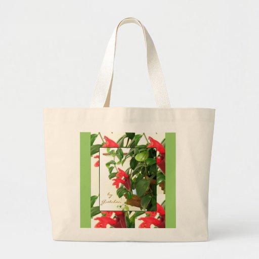 Lipstick Plant Large Tote Bag