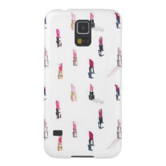 Lipstick Print Samsung Galaxy 5 Phone Case