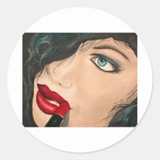 Lipstick Sticker