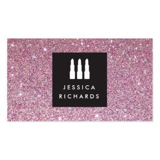 Lipstick Trio Logo for Freelance Makeup Artist III Pack Of Standard Business Cards