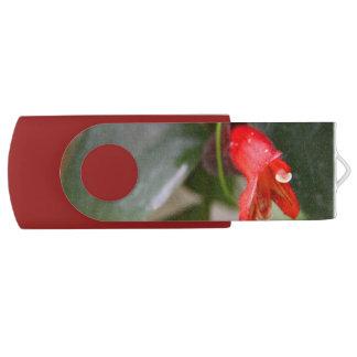 Lipstick Vine Flash Drive Swivel USB 2.0 Flash Drive
