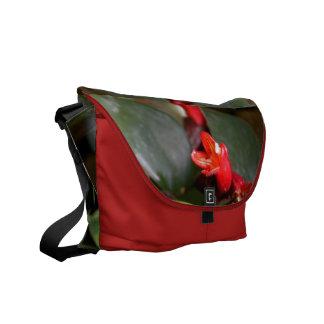 Lipstick Vine Messenger Bag