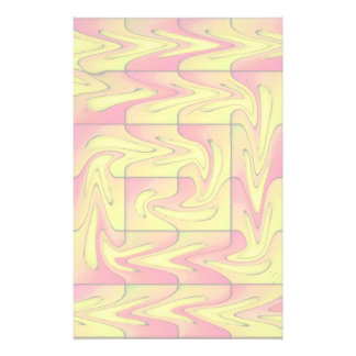 Liquefied abstract stationery design