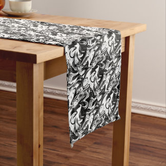 Liquefied Black White Marble,