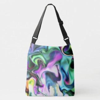 Liquid Abstract Crossbody Bag